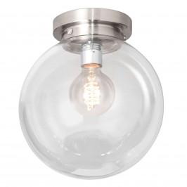 Globe - stropní světlo s čirým kulovým stínidlem