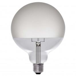 Segula LED žárovka Globe polomat E27 8W, teplá bílá
