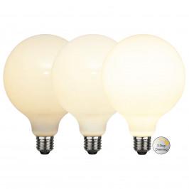 Best Season LED žárovka globe E27 G125 7,5 W, 3-step-dim, opál