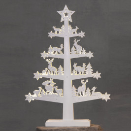 Best Season Fauna LED dekorativní strom, výška 47 cm