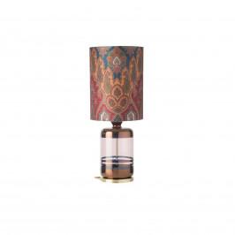 EBB & FLOW EBB & FLOW Pillar stolní lampa, Brocade blue/red