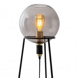 Näve Stolní lampa Stelo s kulatým stínidlem ze skla
