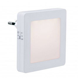 Paulmann Paulmann Esby LED noční světlo, zásuvka, hranaté