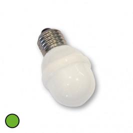Rotpfeil E27 golfová koule žárovka 1W 5,5 VA zelená