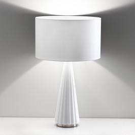 Selene Stolní lampa Costa Rica, stínidlo bílé, noha bílá
