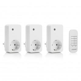 Smartwares 3ks Mini zásuvka SH4-99573 Interiér
