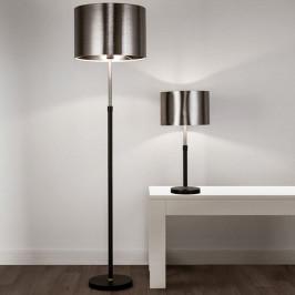 Searchlight Stolní lampa Column stínidlo černá-chrom