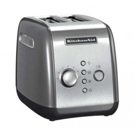 KitchenAid Toaster 5KMT221, stříbrný