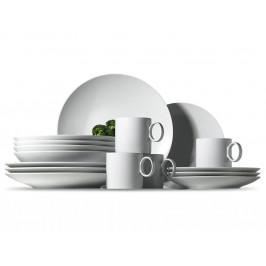 Rosenthal Thomas Loft sada s hrnky, porcelánový servis pro snídani a brunch,16 ks