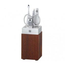 Zwilling Twin Spa manikúra koupelnový stojan dřevěný 5 ks, dřevo/nerez