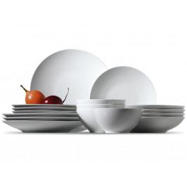 Rosenthal Thomas Loft sada s miskami, porcelánový servis pro snídani a brunch,18 ks
