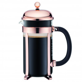 Bodum french press Chambord, měděný, 1,0 l
