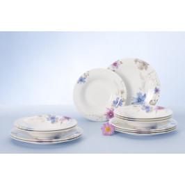 Villeroy & Boch Mariefleur Gris porcelánová jídelní sada, 12 ks