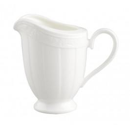 Villeroy & Boch White Pearl konvička na mléko, 0,25 l