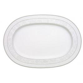 Villeroy & Boch Gray Pearl oválný servírovací talíř, 41 cm