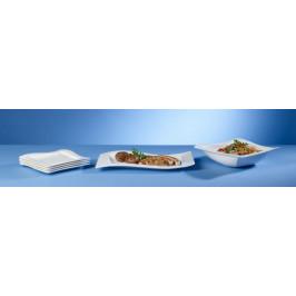 Villeroy & Boch NewWave sada talířů s mísou, 6 ks
