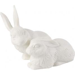 Villeroy & Boch Easter Bunnies velikonoční zajíčci, 13 x 10 cm