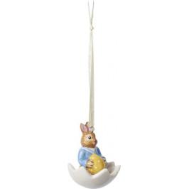 Villeroy & Boch Bunny Tales velikonoční závěsná dekorace, zajíček Max ve skořápce