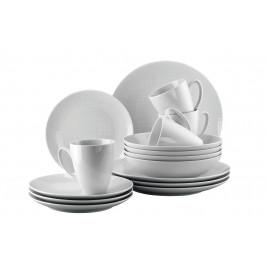 Rosenthal Mesh porcelánová jídelní sada včetně hrnků,16 ks