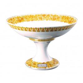 Rosenthal Versace Medusa Rhapsody porcelánová mísa na noze