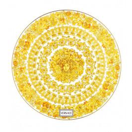 Rosenthal Versace Medusa Rhapsody servírovací talíř porcelánový, Ø 33