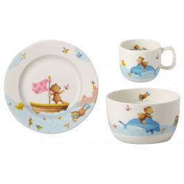 Villeroy & Boch Happy as a Bear sada dětského porcelánu, 3 ks