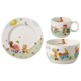 Villeroy & Boch Hungry as a Bear sada dětského porcelánu, 3 ks