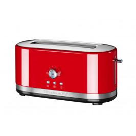KitchenAid toustovač s dlouhými otvory a manuálním ovládáním 5KMT4116, královská červená