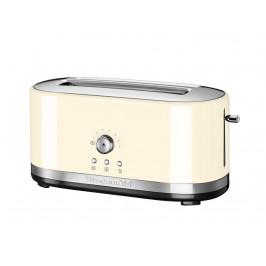 KitchenAid toustovač s dlouhými otvory a manuálním ovládáním 5KMT4116, mandlová