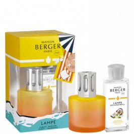 Maison Berger Paris dárková sada: katalytická lampa Blissful + Coco Monoï, 180 ml