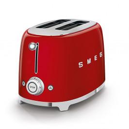 Toustovač Smeg 50´s Retro Style TSF01, 2x2, červený, TSF01RDEU