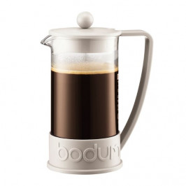 Bodum french press Brasil, bílý, 1,0 l