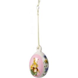 Villeroy & Boch Spring Fantasy závěsná porcelánová dekorace vajíčko, Bunny Tales