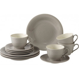 Villeroy & Boch Like Color Loop Stone porcelánový kávový servis, 12 ks