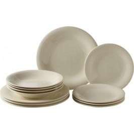 Villeroy & Boch Like Color Loop Natural porcelánová jídelní sada, 12 ks