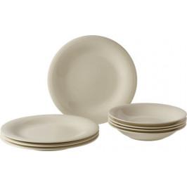 Villeroy & Boch Like Color Loop Natural porcelánová jídelní sada, 8 ks