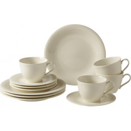 Villeroy & Boch Like Color Loop Natural porcelánový kávový servis, 12 ks