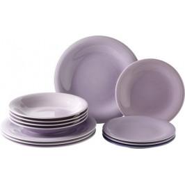 Villeroy & Boch Like Color Loop Blueblossom porcelánová jídelní sada, 12 ks