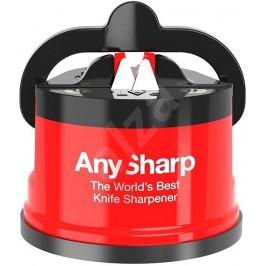 Brousek na nože AnySharp, červený, ASKEDRED