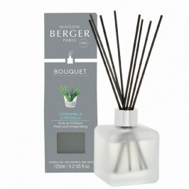 Maison Berger Paris aroma difuzér Cube, Proti komárům – Citronella 125 ml