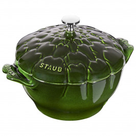 Litinový hrnec Staub Cocotte ve tvaru artyčoku, Ø 22 cm
