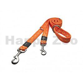 Vodítko přepínací ROGZ Alpinist HLM 21 D-Orange (S) 1,1x110-130-