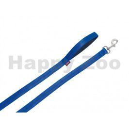 Vodítko NOBBY Soft Grip nylonové modré 1x180cm