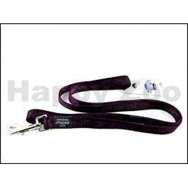 Vodítko ROGZ Alpinist HL 25 E-Purple (L) 2x140cm