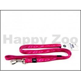 Vodítko ROGZ Alpinist HL 23 K-Pink (M) 1,6x140cm