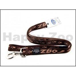 Vodítko ROGZ Alpinist HL 23 J-Chocolate (M) 1,6x140cm