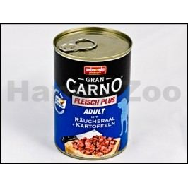 Konzerva GRAN CARNO Adult uzený úhoř a brambory 400g