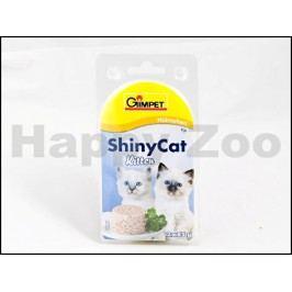 Konzerva SHINY CAT Kitten - kuře 2x70g