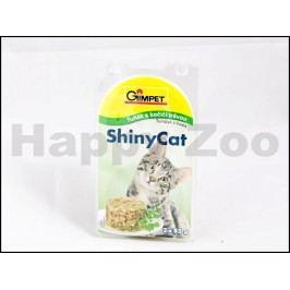 Konzerva SHINY CAT - tuňák a kočičí tráva 2x70g