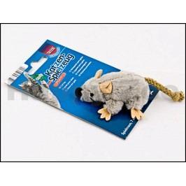 Hračka TRIXIE - plyšová myš s catnipem 7cm